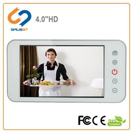 Home Wide Angle Smart Digital Door Viewer 160 Degree 4.0 Inch LCD Screen Size