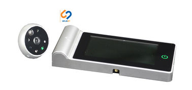 China 32GB TF Card Door Peephole Viewer Camera / Digital Door Viewer With Motion Sensor supplier