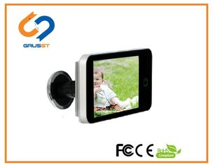 Hidden Doorbell LCD Peephole Viewer With 120 Degree Wide Angle 4.0 Inch LCD