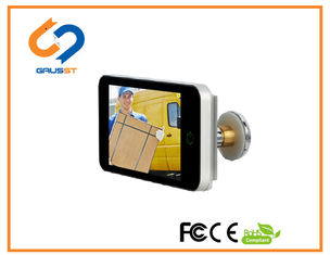Home Security Electronic Door Eye Viewer 600P Touch Screen 4.0 Inch LCD