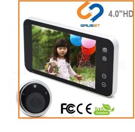 China TFT LCD Screen Smart Door Peephole / Hd Peephole Viewer Visual Doorbell factory