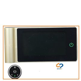 China Video Recording Wireless Digital Door Viewer / IR LED Ip Night Vision Door Camera distributor