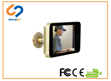 China CE FCC ROHS Lookout Smart Door Viewer While Color Peep Holes For Front Doors distributor