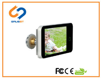 China Home Apartment Lookout Smart Door Viewer 4.0 Inch LCD Digital Peephole distributor